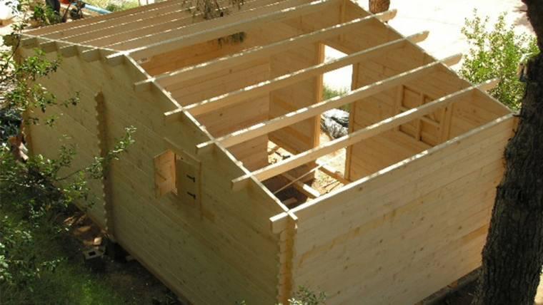 Casa din lemn F5