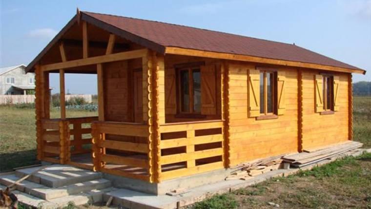 Casa din lemn F6