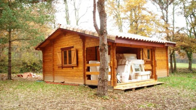 Wooden cottage F1