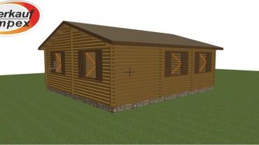 Casa din lemn F1 C