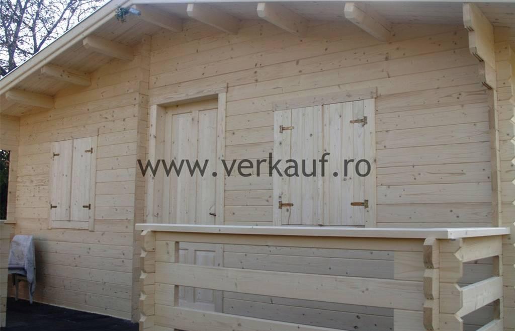 Casa din lemn F2.B
