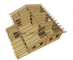 Casă din lemn F1.B