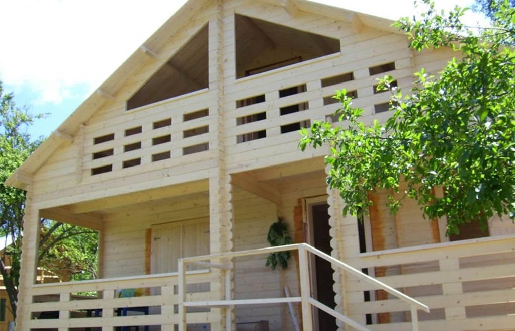 Casa din  lemn F7