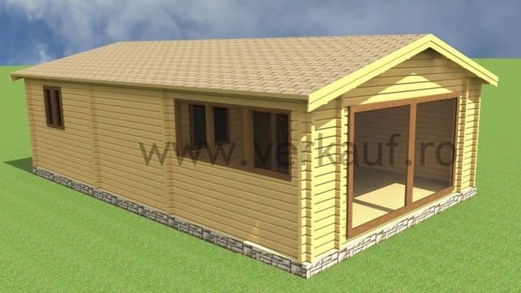 Casa din lemn F11.D