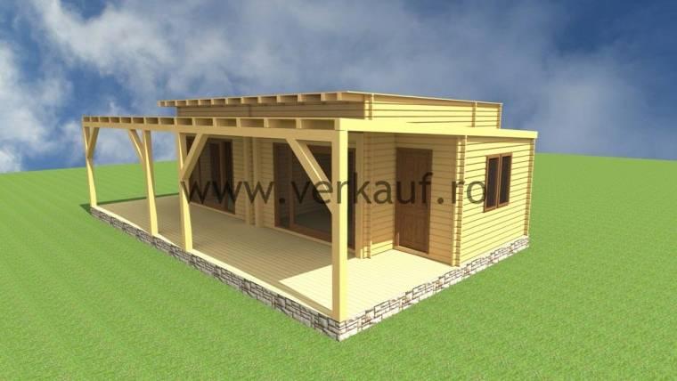 Casa din lemn F11.E