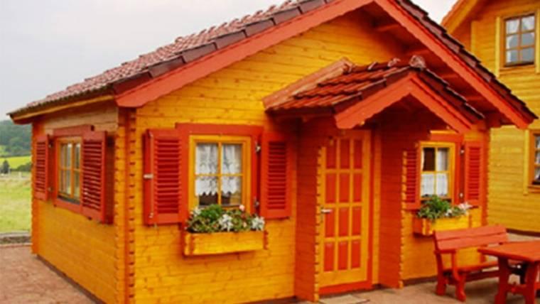 Casa din lemn F13
