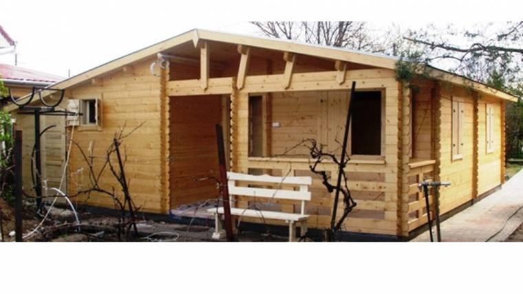Casa din lemn F14