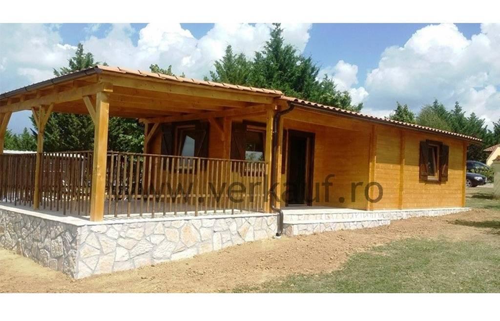 Casa din lemn F17