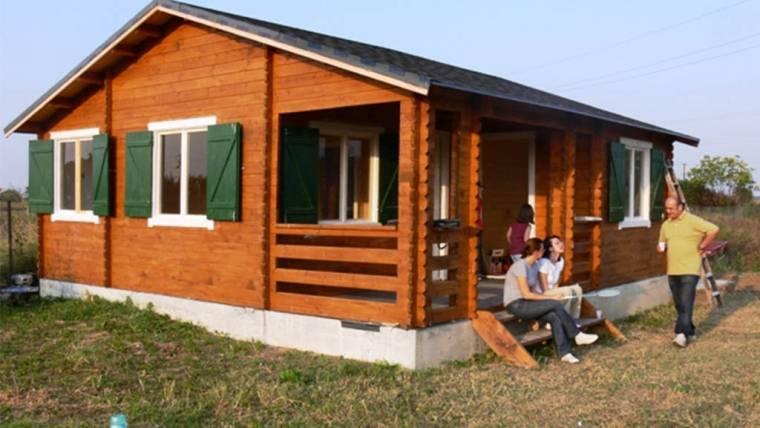Casa din lemn F9