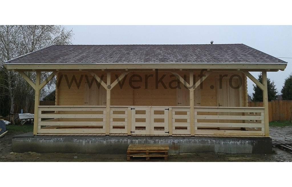 Casa din lemn F9.C