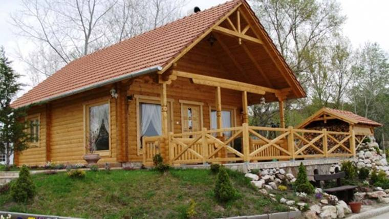 Wooden house H1