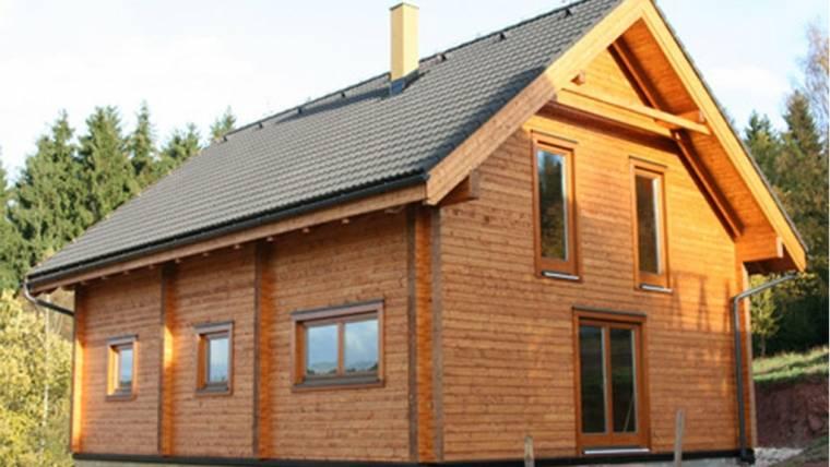 Casa din lemn H2