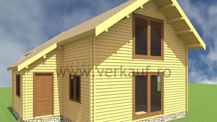Casa din lemn H2.C
