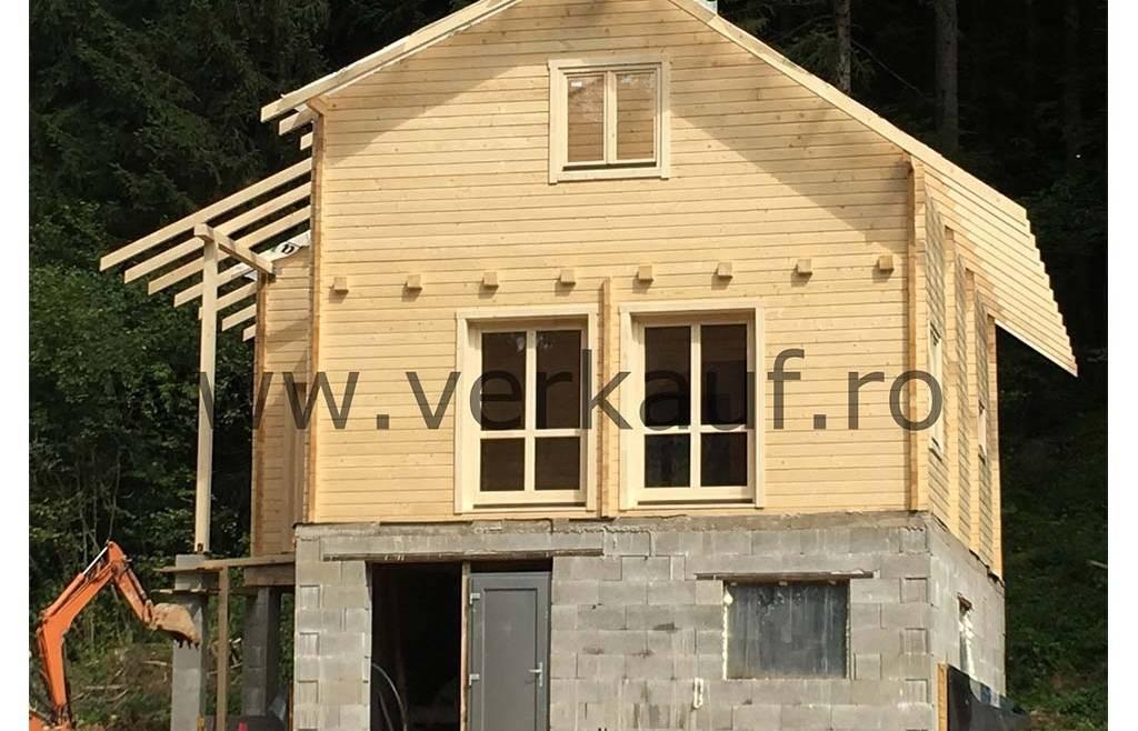 Casa din lemn H2.E