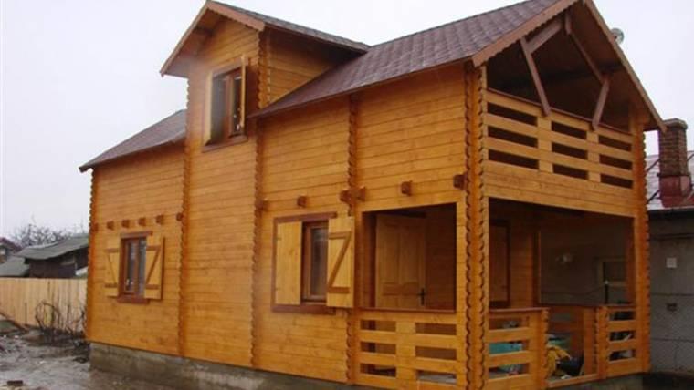 Casa din lemn H3