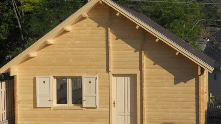 Casa din lemn H7