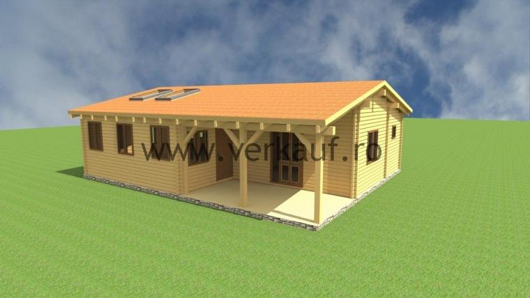 Casa de locuit din lemn L3.B
