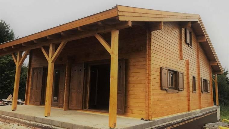 L6 típusú faház