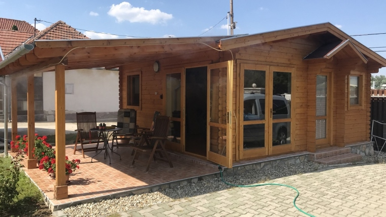 Casa din lemn F15.B