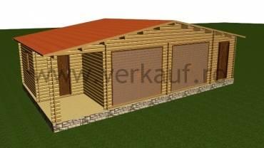 Garaje din lemn