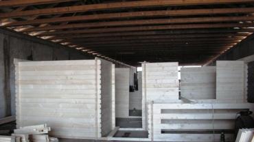 casa din lemn premontata