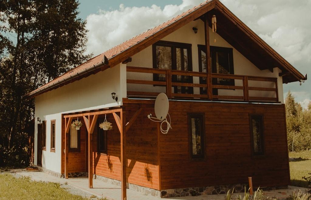 Casa din lemn H6.B
