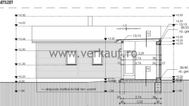 Casă de locuit din lemn L1 - plan