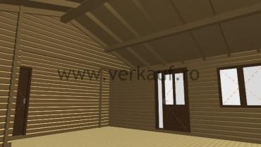 Casă de locuit din lemn L3