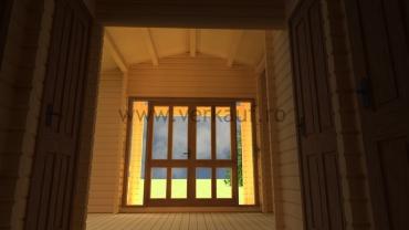 Casa de locuit din lemn L4.B