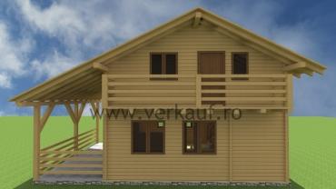Casă de locuit din lemn L5