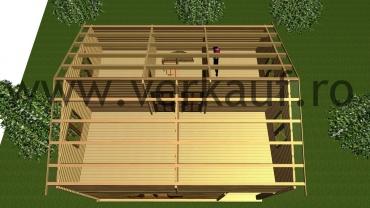 Casă din lemn F7 B