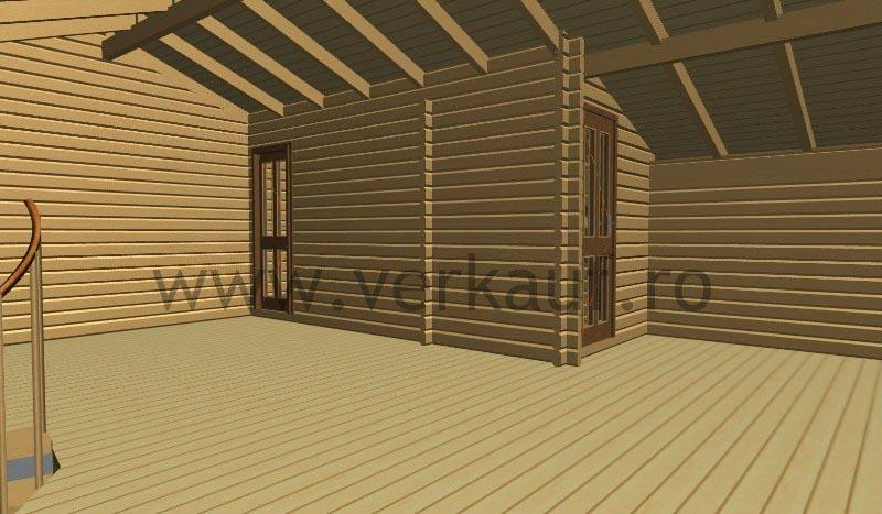 Casă din lemn H2