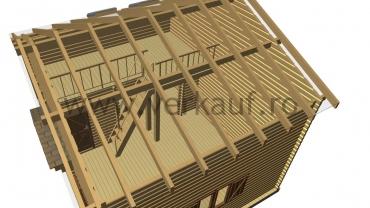 Casă din lemn F13.B