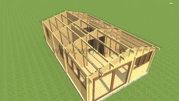 Casă din lemn F11.D