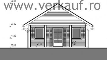 Planurile casei din lemn F16