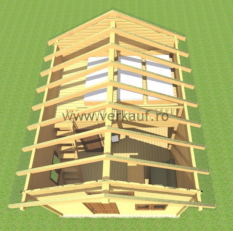 Casă din lemn F13.C