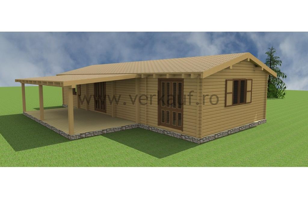 Casa de locuit din lemn L1.B