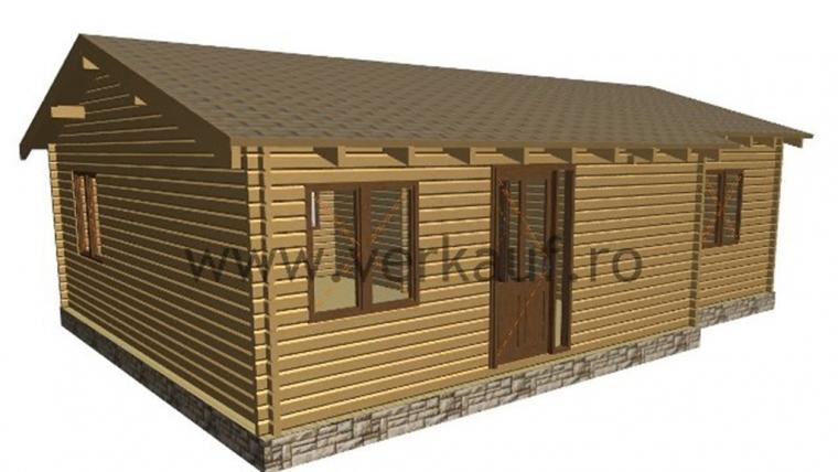 Casa de locuit din lemn L3