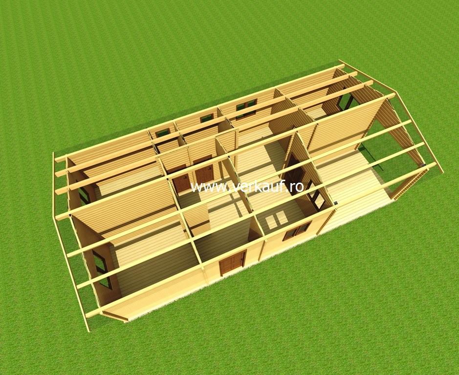 Casă de locuit din lemn L4