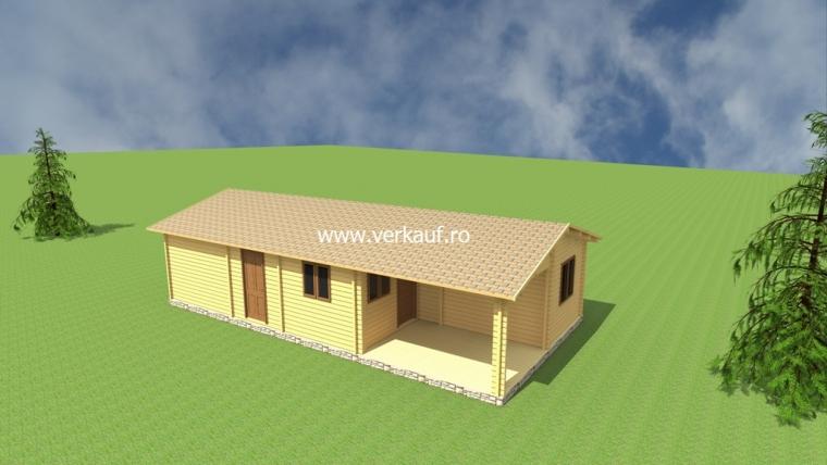 Casa de locuit din lemn L4