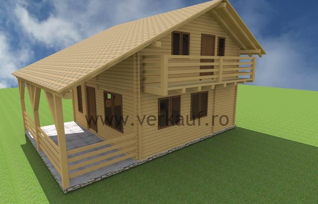 Casa de locuit din lemn L5