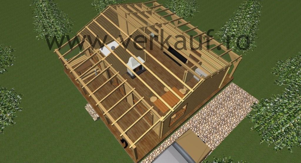 Construction de maisons en bois