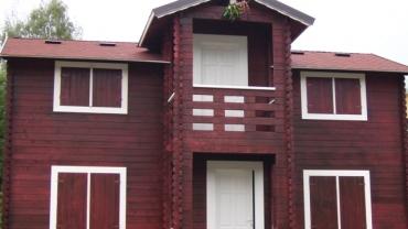 Maison de bois H4