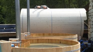 Sauna tube