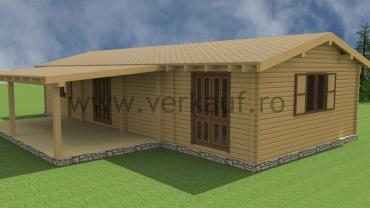 Maison de bois L1.B