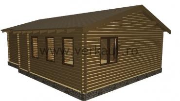 Maison de bois L3