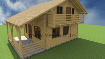 Wooden house type L5