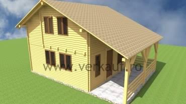 L5 típusú családi faház
