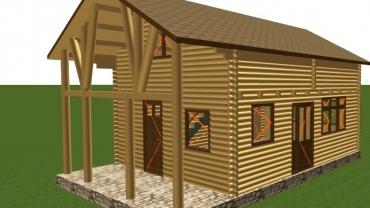 H5 típusú faház