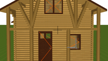 Wooden house H5